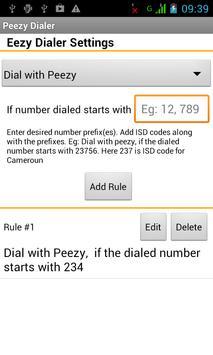 Peezy Dialer apk screenshot