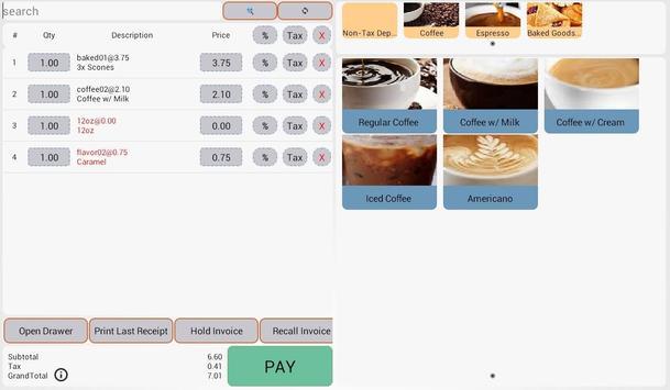 Sircle POS Coffee Shop apk screenshot