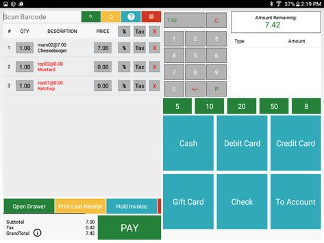 Point Of Sale - Sircle POS apk screenshot