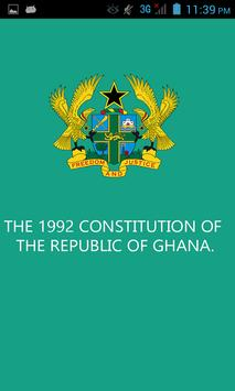 Constitution of Ghana poster