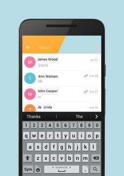 Free messenger POF apk screenshot