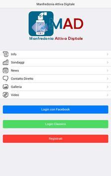 Manfredonia Attiva Digitale poster