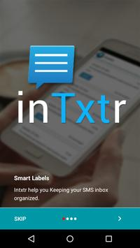 InTxtr - A Better SMS Inbox poster