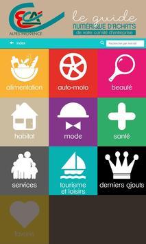 Guide d'Achats du CE CAAP poster