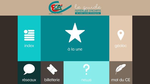 Guide d'Achats du CE CAAP apk screenshot