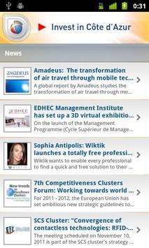 Invest in Côte d'Azur apk screenshot