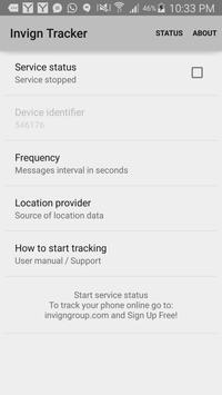 Invign GPS Tracker India apk screenshot