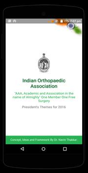 Indian Orthopaedic Association poster