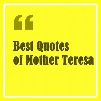 Best Quotes of Mother Teresa apk screenshot