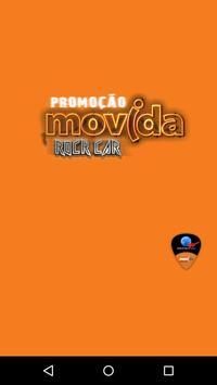 Movida Rock car poster