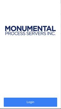 Monumental Process Servers poster