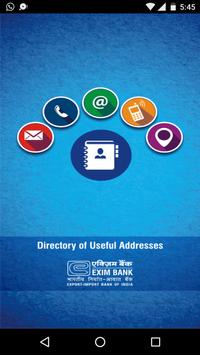 Exim Directory application poster