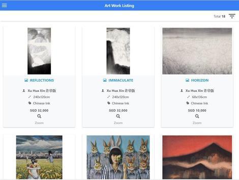 White Space Art Asia Gallery apk screenshot
