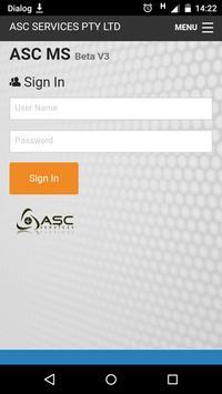 ASC Management System Beta V3 poster