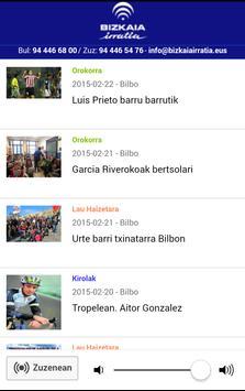 Bizkaiairratia apk screenshot