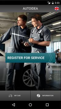 Autoidea service poster