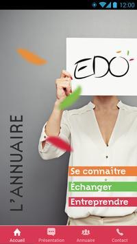 EDO Annuaire poster