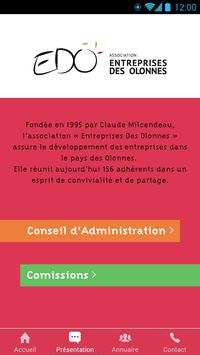 EDO Annuaire apk screenshot