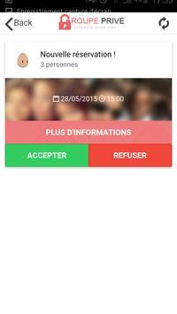 Groupe-Prive Pro apk screenshot