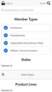 ISA Member Directory poster