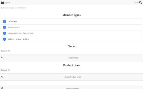 ISA Member Directory apk screenshot