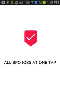 BPO Jobs poster