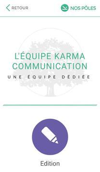 Agence Karma apk screenshot