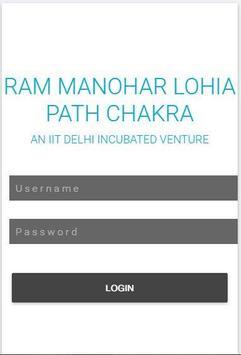 Ram Manohar Lohia Path Chakra poster