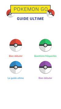 Guide pour Pokémon Go Français poster