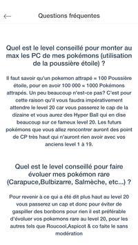 Guide pour Pokémon Go Français apk screenshot