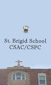 St. Brigid CSAC App poster