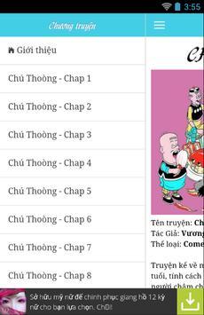 Sách truyện Chu Thoong apk screenshot