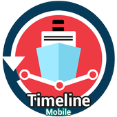 Timeline Mobile icon