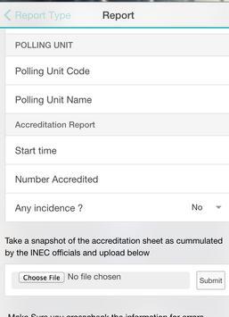 VMP Reporting apk screenshot