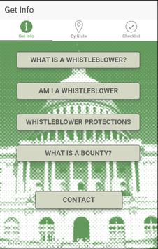 Whistleblower Laws poster