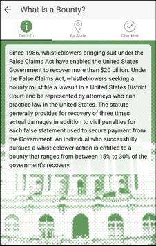 Whistleblower Laws apk screenshot