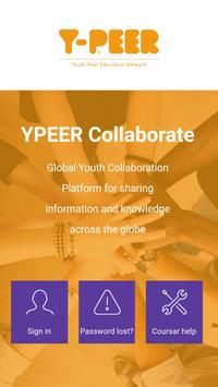YPEER Collaborate poster