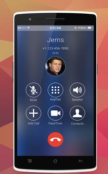 iOS10 Caller Screen apk screenshot