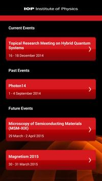 IOP Conferences apk screenshot