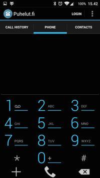 Puhelut.fi apk screenshot