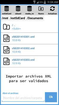 CFDI Validador Lite apk screenshot
