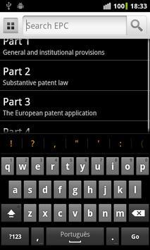 EPC apk screenshot