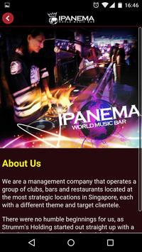 Ipanema World Music Bar apk screenshot