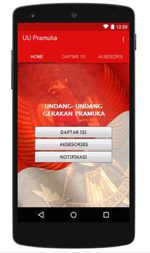 UU Gerakan Pramuka Indonesia poster