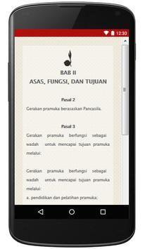 UU Gerakan Pramuka Indonesia apk screenshot