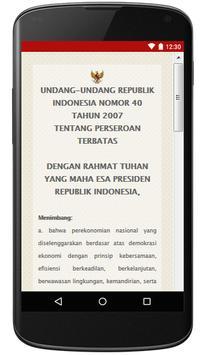 UU Tentang Perseroan Terbatas apk screenshot