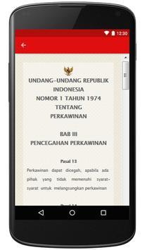 UU Tentang Perkawinan apk screenshot