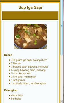 29+ Resep Sup Pilihan apk screenshot