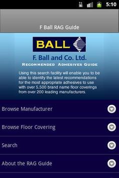 F Ball & Co. Ltd. RAG 2013 poster