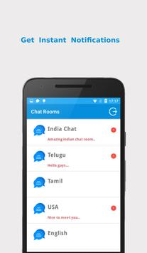 Chat Rooms apk screenshot